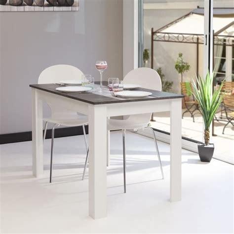 table de cuisine avec rallonge deco cuisine pour table ronde bois blanc avec rallonge