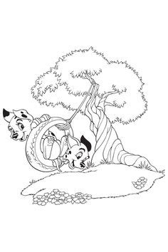 232 best 101 Dalmations coloring pages images on Pinterest | Coloring books, 101 dalmatians and
