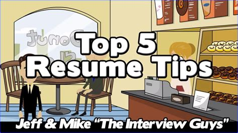 how to write a resume our top 5 resume tips that will