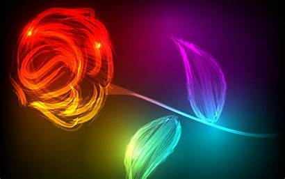 Wallpapers Abstract Colorful Flowers Desktop Rose Sfondi