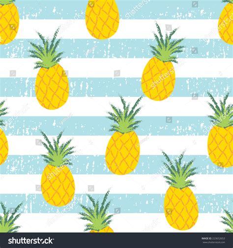 Animated Pineapple Wallpaper - royalty free summer fresh pineapple stripe seamless