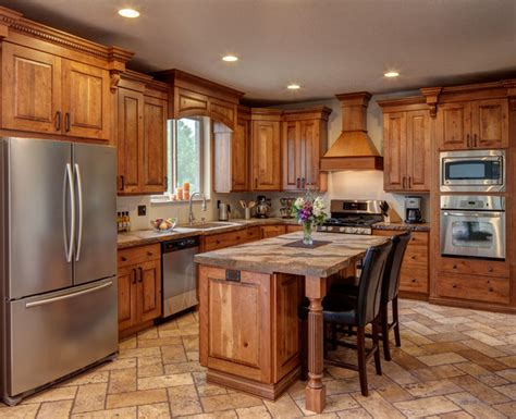 Rustic Kitchen Cabinets For The Comfortable Kitchen