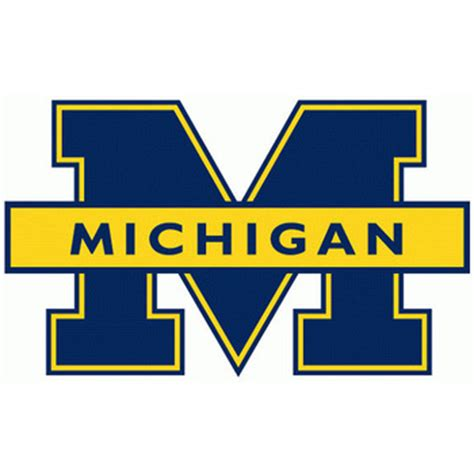 michigan wolverines colors the 25 best logos in college basketball bleacher report