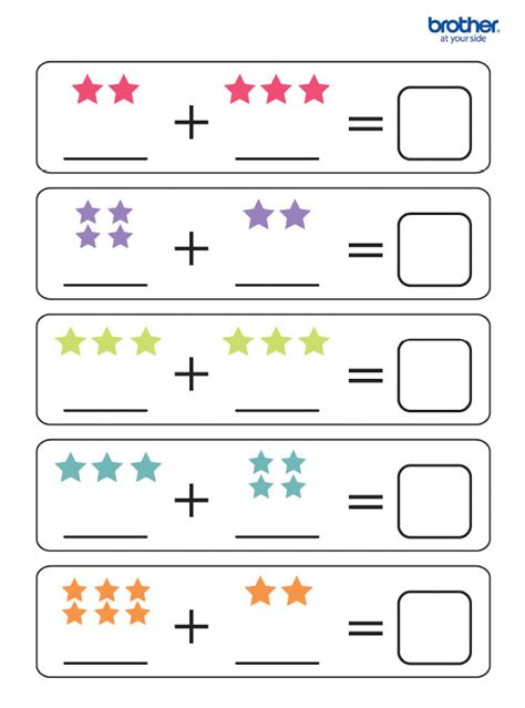 printable math   addition creative center
