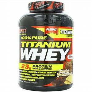 San Nutrition 100  Pure Titanium Whey Protein Powder  Chocolate Graham Cracker  5 Pounds