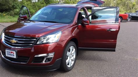 2017 chevrolet traverse 1lt 2017 chevrolet traverse 1lt awd red youtube