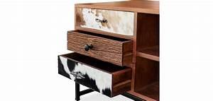 Meuble Tv Manguier : meuble tv bois de manguier ~ Teatrodelosmanantiales.com Idées de Décoration