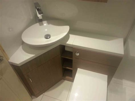 Corner Bathroom Sink Ideas by Interior Oval Corner White Sink Placed On The White