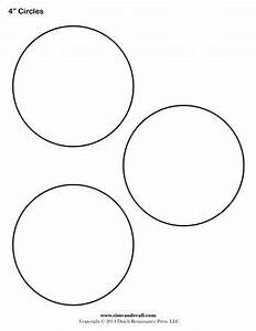 circle template 4 inch tim39s printables With circle templates to print