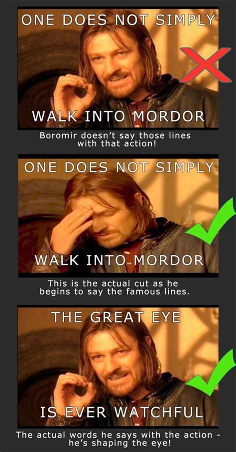 Boromir Memes - boromir meme one does not simply dump a day