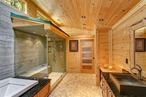 A Modern Day Log Home? Absolutely!  Timber Block