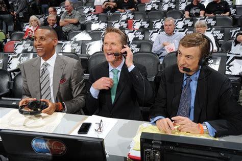 nba finals tv commentators basketball scores