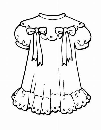Mewarnai Anak Gambar Pakaian Coloring Baju Perempuan