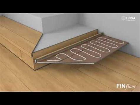 Instalar suelo laminado en escaleras   FINfloor   YouTube