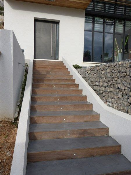 best 20 escalier ext 233 rieur b 233 ton ideas on