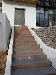 Recouvrir Escalier Béton : best 20 escalier ext rieur b ton ideas on pinterest ~ Premium-room.com Idées de Décoration
