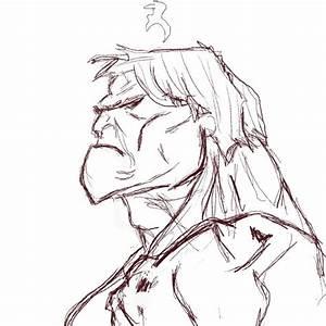 HULK..is not amused. by Lass007 on DeviantArt