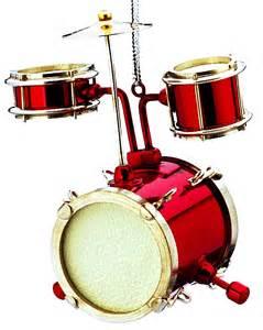 junior drum set personalized ornament