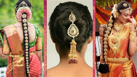 indian bridal hairstyles wedding hairstyles step  step