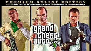 Grand Theft Auto V Premium Online Edition - Rockstar Games