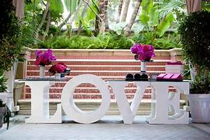ceremony decor photos love table base inside weddings With table base letters