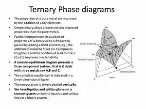Lever Rule Ternary Phase Diagram