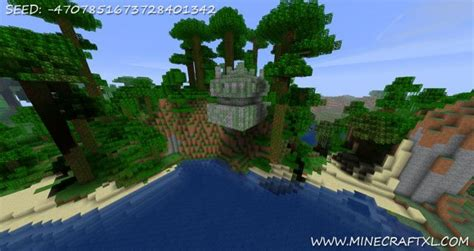 minecraft hanging jungle temple seed