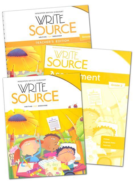 Write Source (2012 Edition) Grade 2 Set (051628) Details  Rainbow Resource Center, Inc