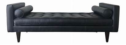 Benches Bench Leather Daybed Century Chairish Mid
