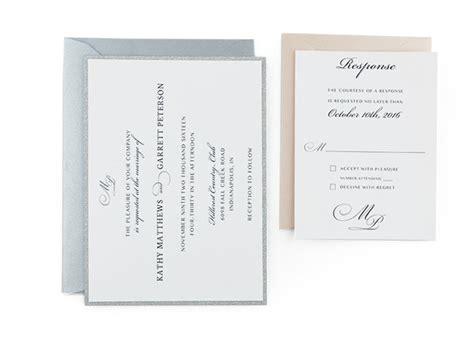 classy  wedding ivitation template