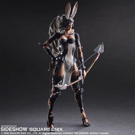 final fantasy fran collectible figure  square enix
