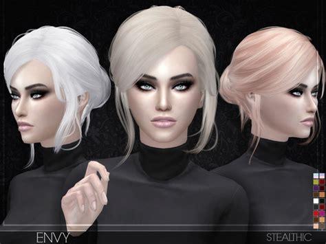 envy female hair  stealthic  tsr sims  updates