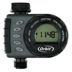 shop orbit digital hose water timer at lowes com