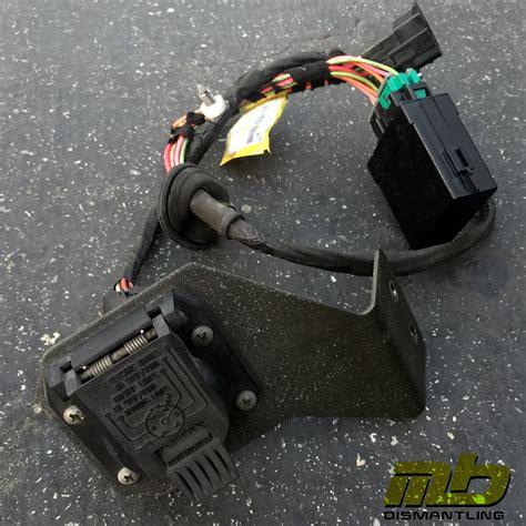 98 05 mercedes trailer hitch wiring harness mercedes