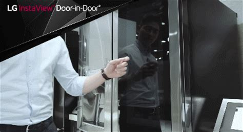 lgs smart instaview door  door refrigerator cooking gizmos
