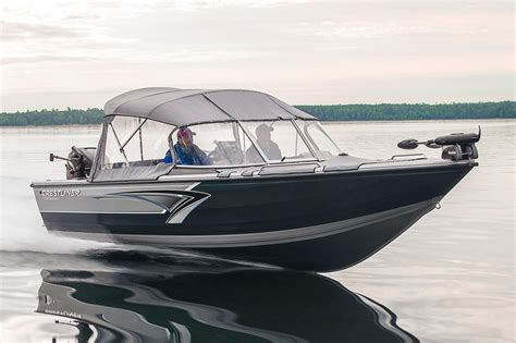 Aluminum Fishing Boat New by 2016 New Crestliner 2050 Authority Aluminum Fishing Boat