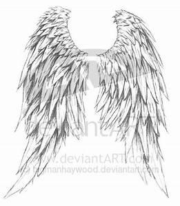 Amazing design of angel wings tattoo design - Tattoos Book ...