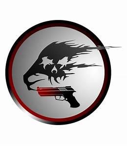 Gun/Skull Smoke Logo by JarenHemphill on DeviantArt