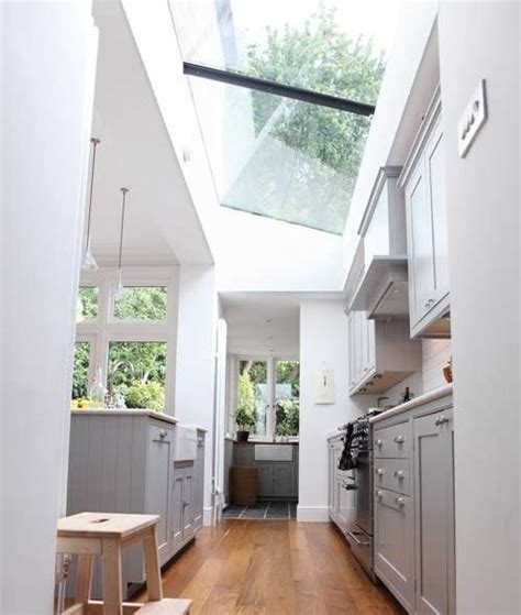 kitchen extension roof designs modern side return extension with glass roof image from 4747