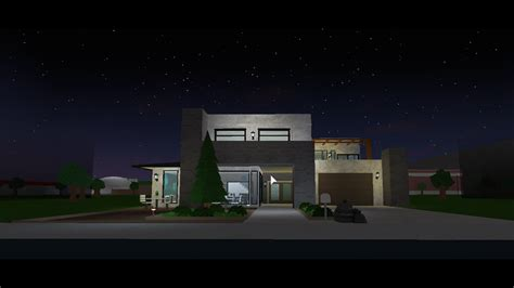bloxburghouse toursmall modern house youtube