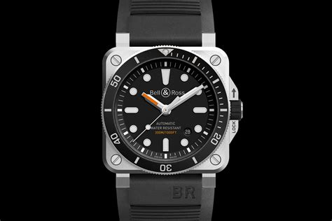bell und ross bell ross br03 92 diver the square dive from b r baselworld 2017