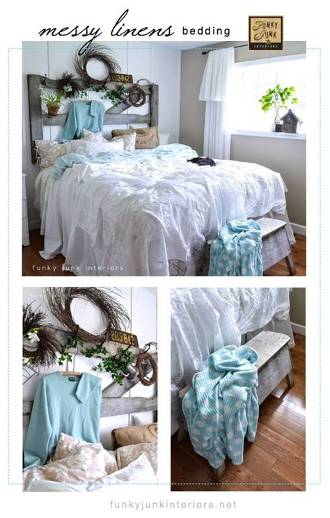 funky headboards how to decorate a bedroom with messy linens headboard ideas funky junk and love this