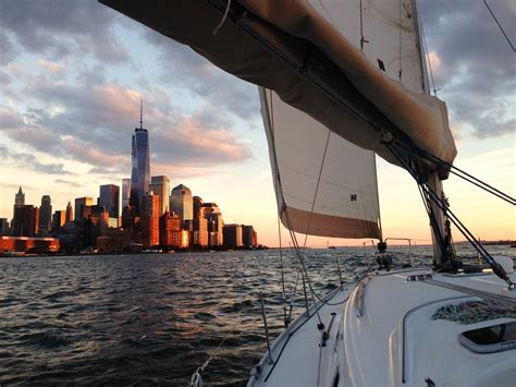 Sailing Boat Nyc by 5 Places To Sail Into The Sunset In New York City