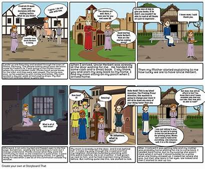 Middle Ages Storyboard