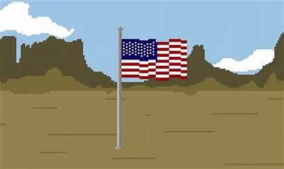 Flag Raise America Stupid Stop Patriotism Playing