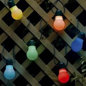 Guirlande Solaire Pas Cher : guirlande lumineuse a led blog eclairage design ~ Teatrodelosmanantiales.com Idées de Décoration