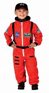 NASA Astronaut Costume Kids Children Boy Orange | Costumes ...