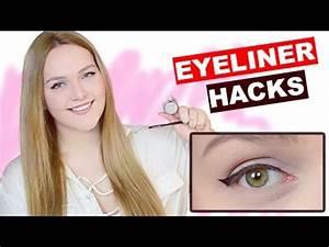 Eyeliner Für Anfänger : eyeliner hacks tipps tricks f r den perfekten strich tutorial f r anf nger deutsch ~ Frokenaadalensverden.com Haus und Dekorationen