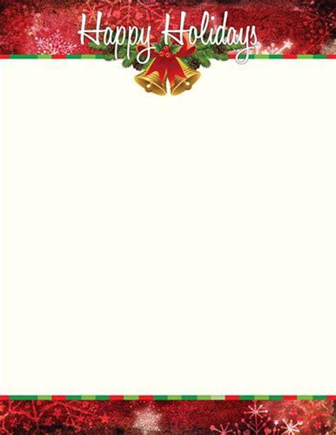 free christmas stationery letterhead free printable letterhead