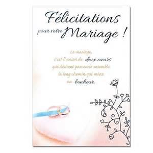 citation pour un mariage cartes mots du bonheur mariage félicitations une carte pour toi